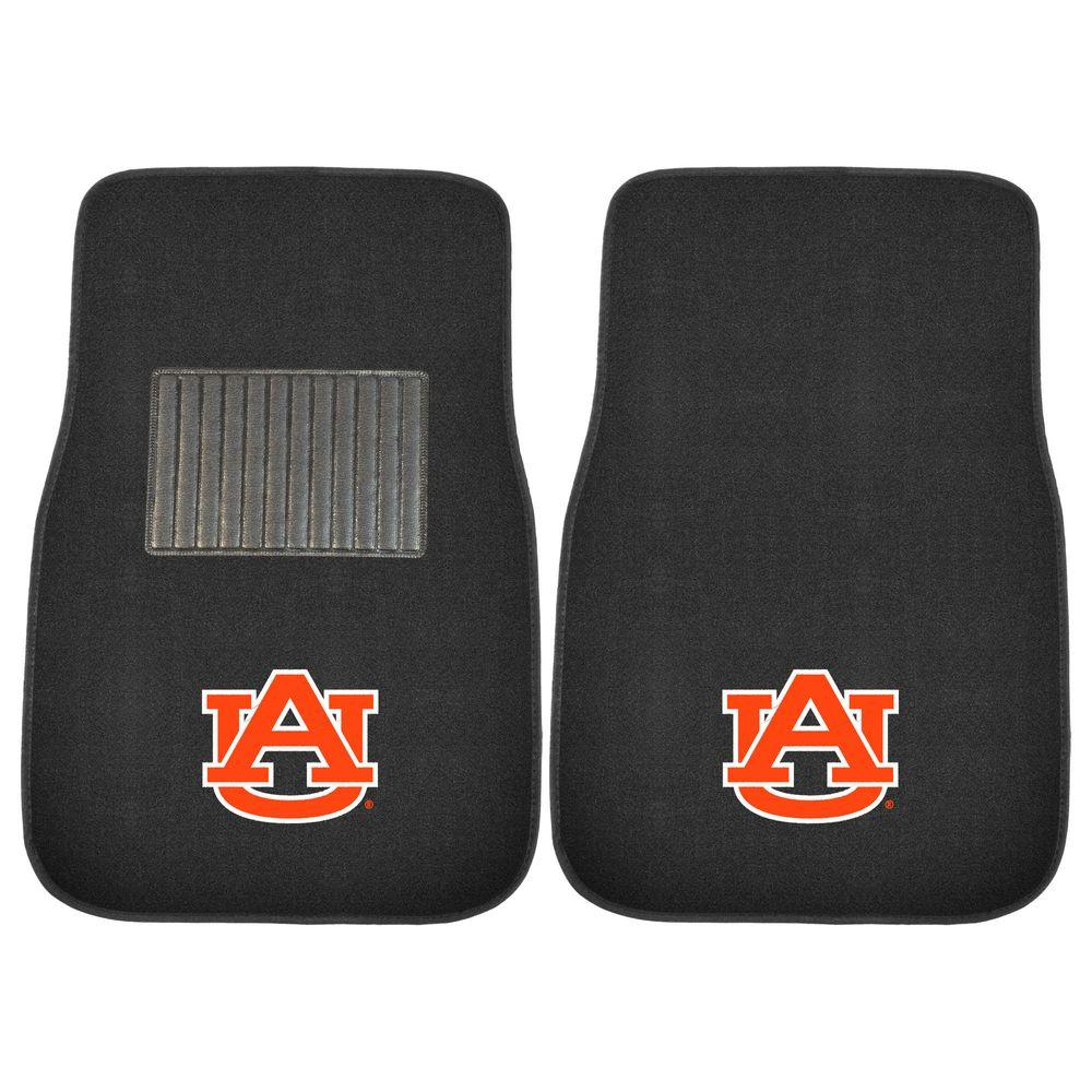 NCAA Auburn University 2-Piece 17 in. x 25.5 in. Carpet Embroidered