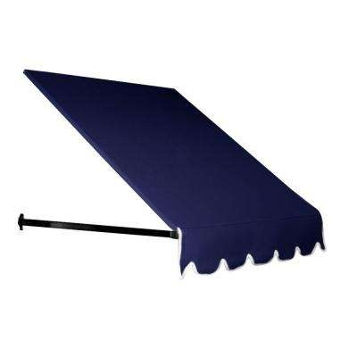 4 ft. Dallas Retro Window/Entry Awning (24 in. H x 42 in. D) in Navy