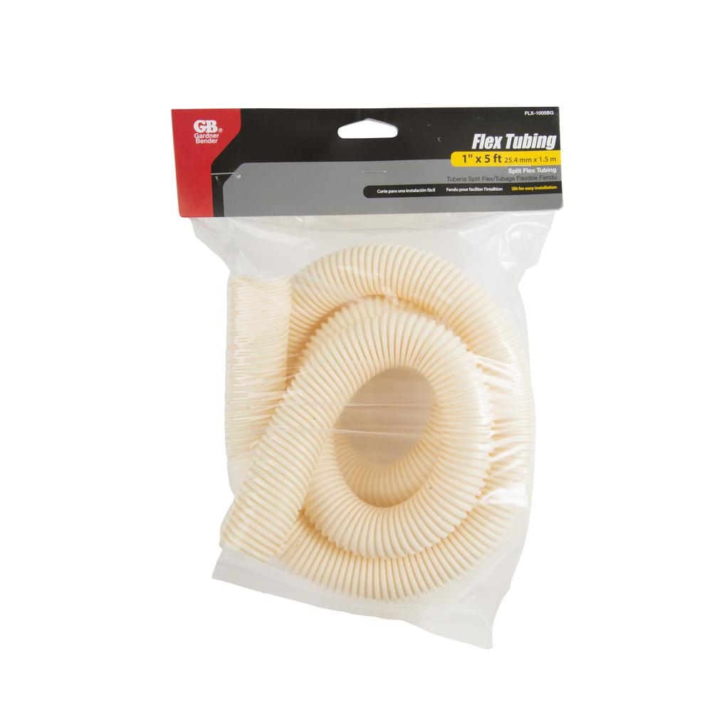 1 in. x 5 ft. Flex Tubing Beige (Case of 4)