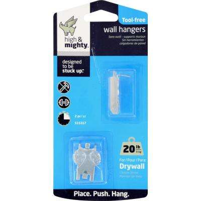 20 lb. Tool Free Picture Hanger (2-Pack)