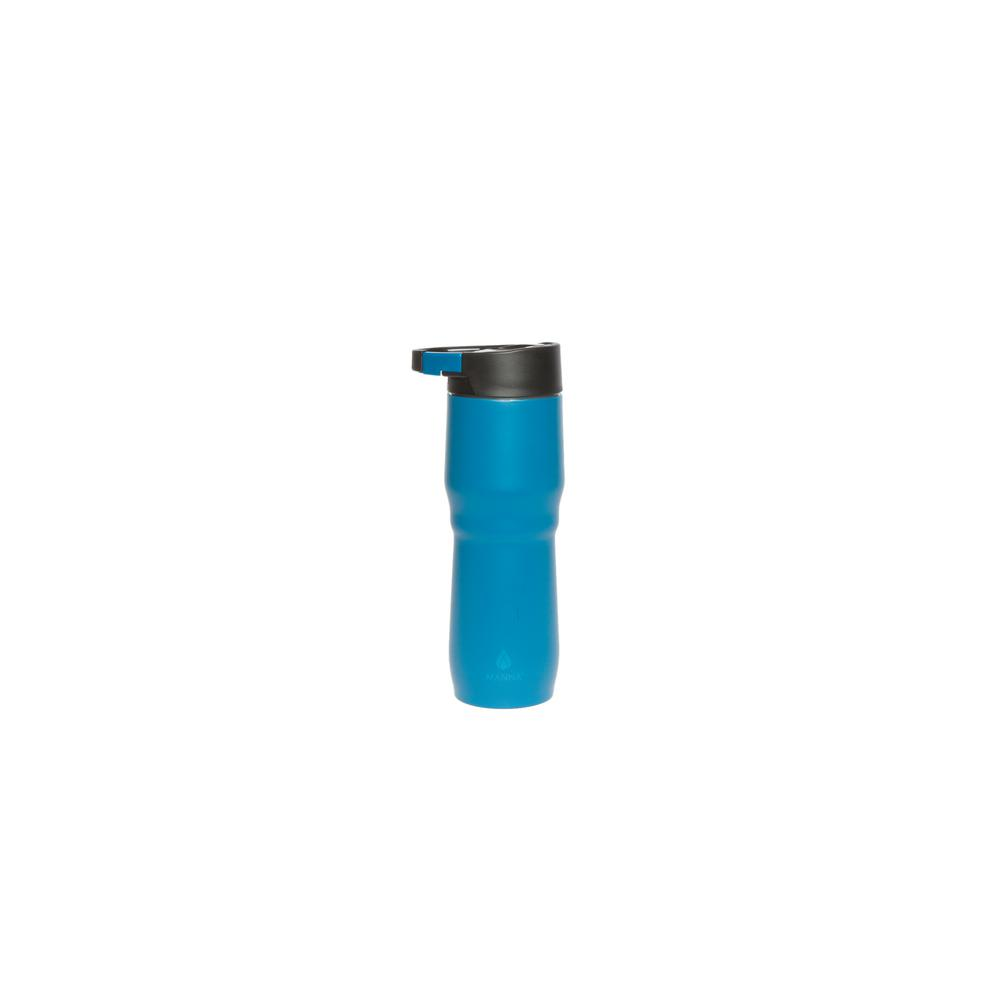 Dash 15 oz. Teal Stainless Steel Vacuum Clip and Carry Mug
