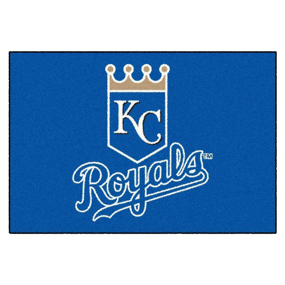 Fanmats Kansas City Royals 19 In X 30 In Accent Rug 6389