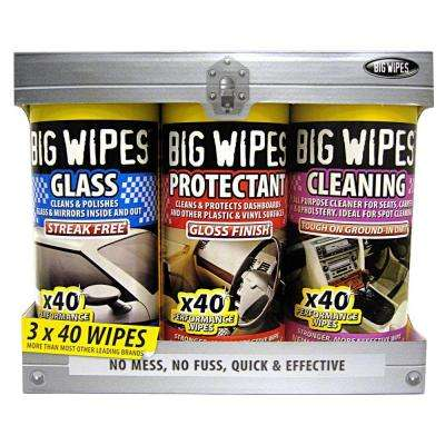 Automotive Wipes (3-Pack)