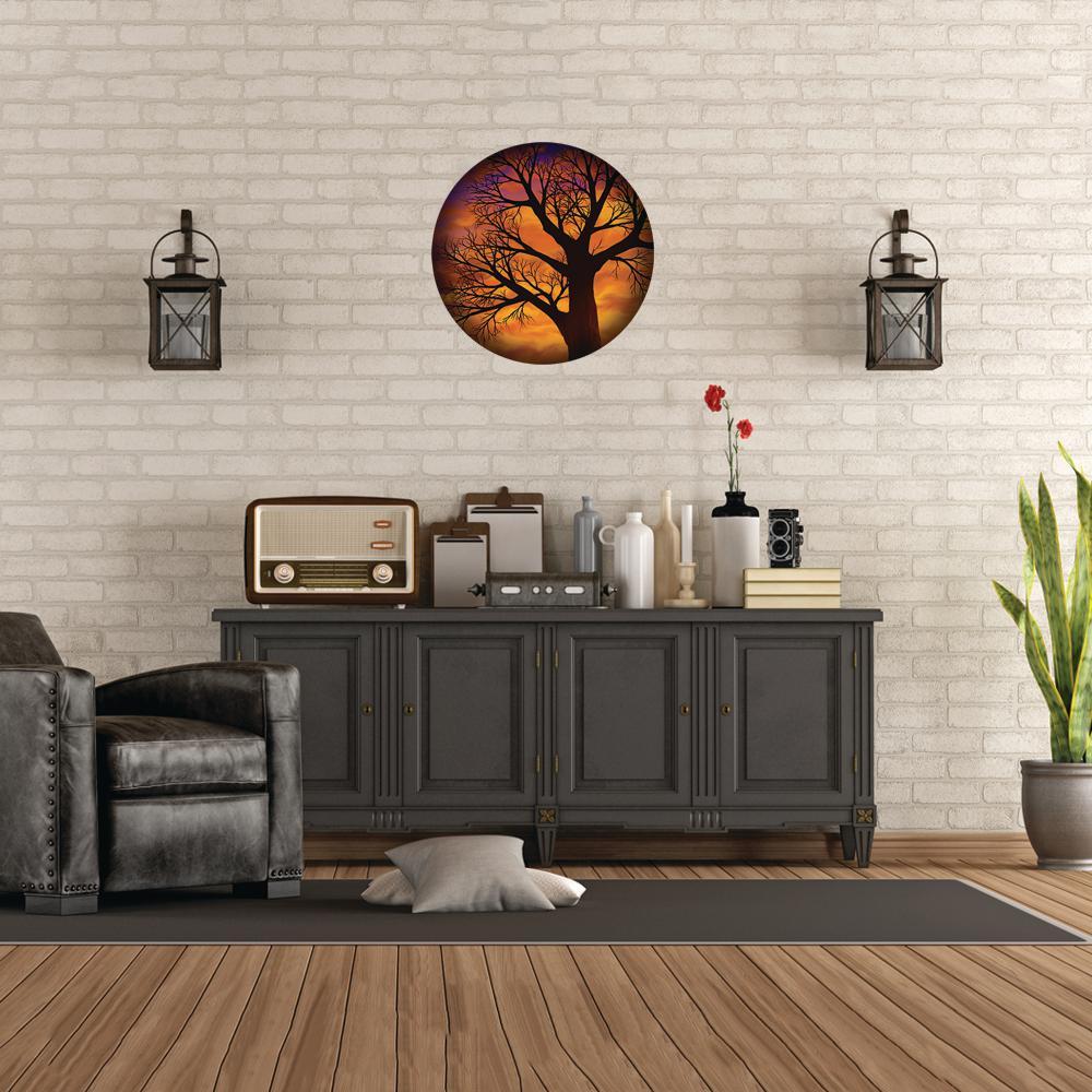 Autumnal Metal Wall Art