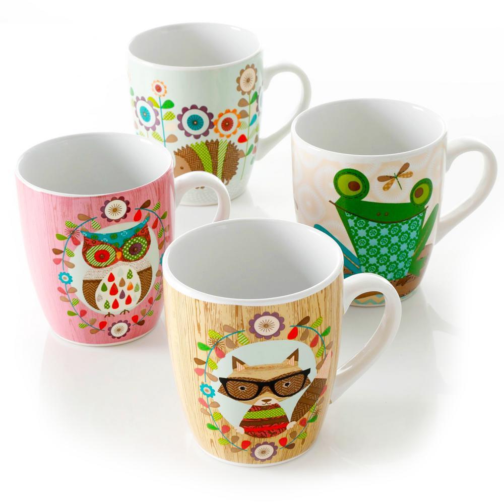 Critter Fun 27 oz. Critter Cup (Set of 4)