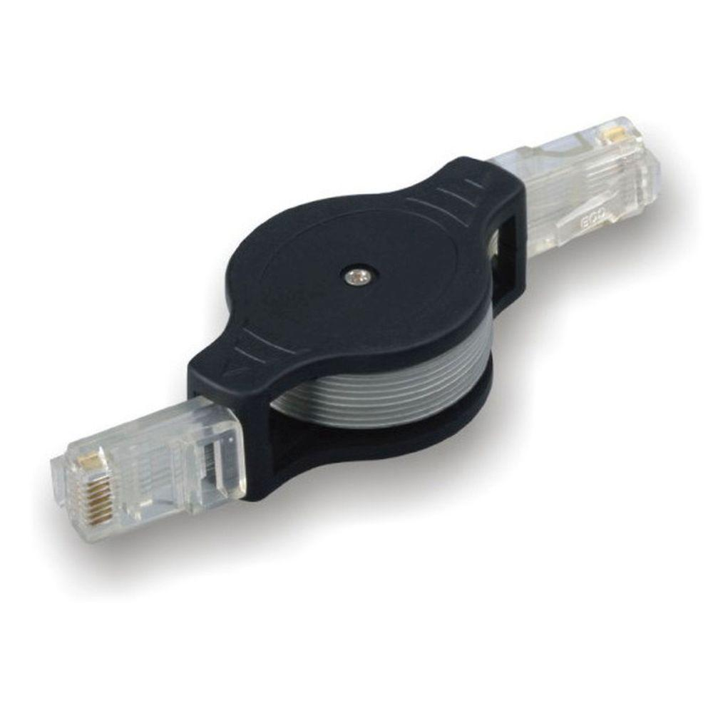 Electronic Master 3 ft. Retractable RJ45 Cable