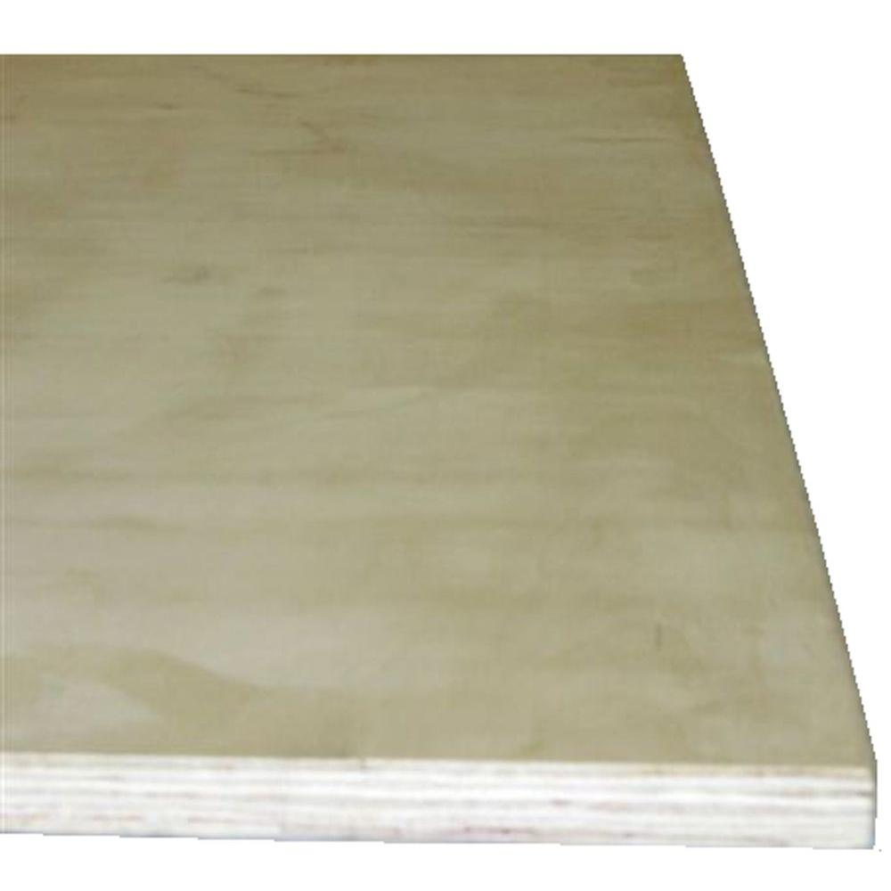 Birch Plywood (Common: 1/4 in. x 2 ft. x 4 ft.;