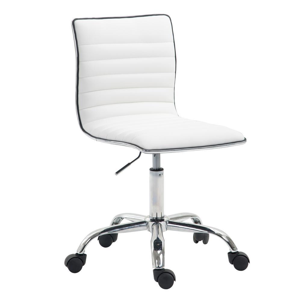 Risa Task White Chair