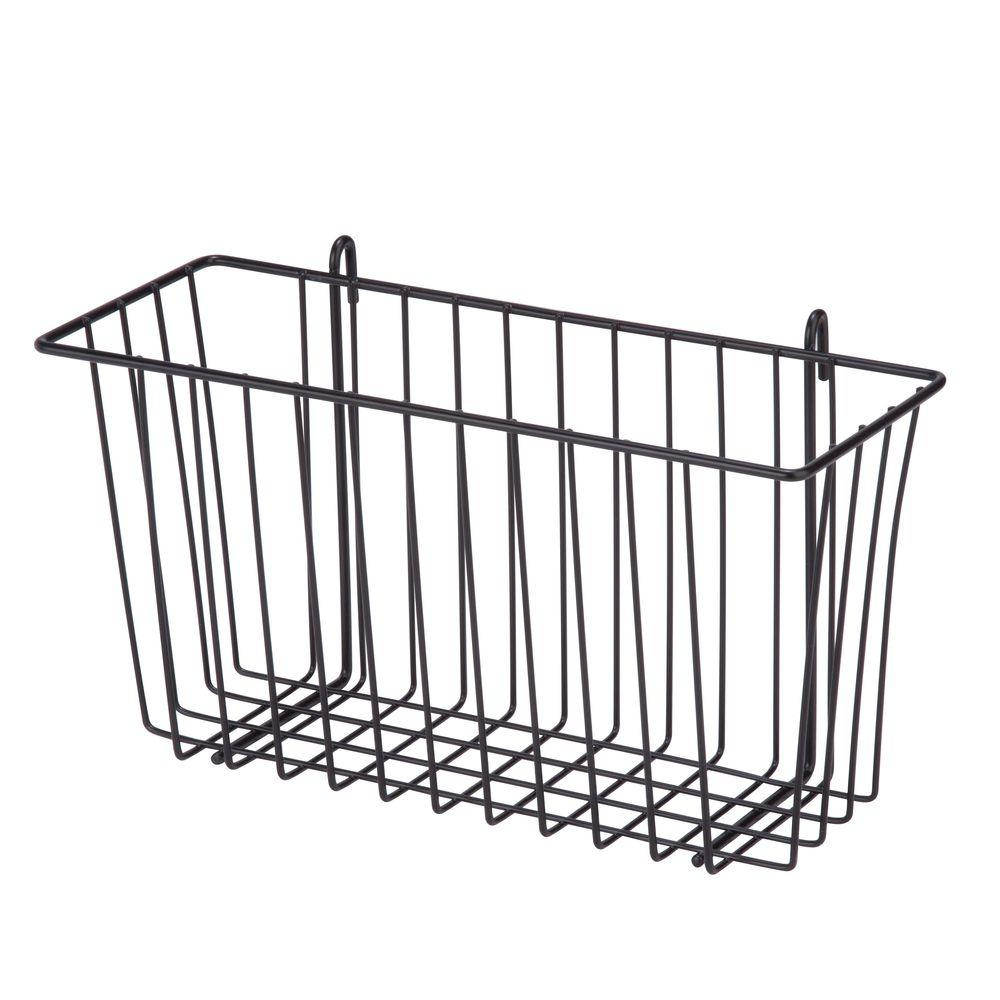 ClosetMaid 16-1/2 in. x 14 in. Stack-or-Hang Wire Storage Basket ...