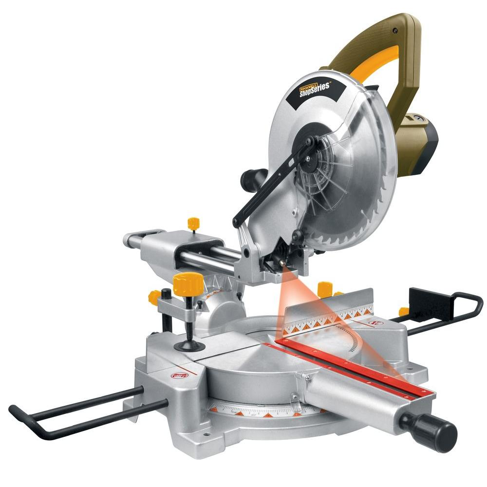 Rockwell Sliding Compound Miter Saw with Laser