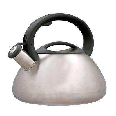 Sphere 11.2-Cup Stovetop Tea Kettle in Silver