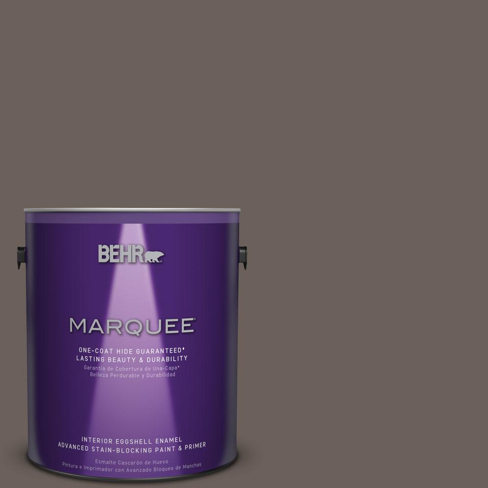 1 gal. #T11-8 Back Stage Eggshell Enamel Interior Paint
