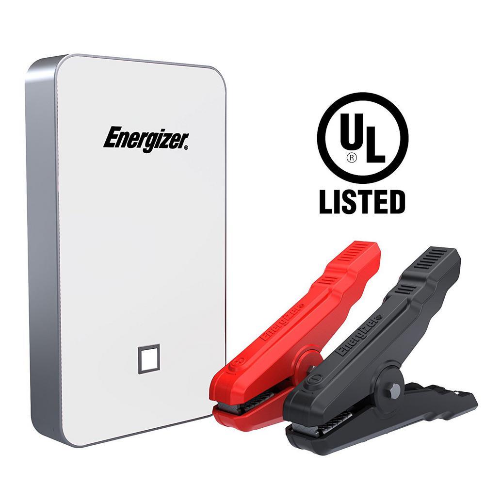 Energizer 7500mAh UL Listed Lithium Jump Starter + 2.4 Am...