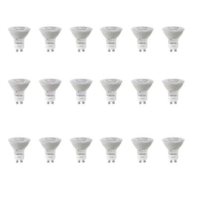 50-Watt Equivalent MR16 GU10 Dimmable Recessed Track Lighting 90+ CRI Frosted Flood LED Light Bulb, Daylight (18-Pack)