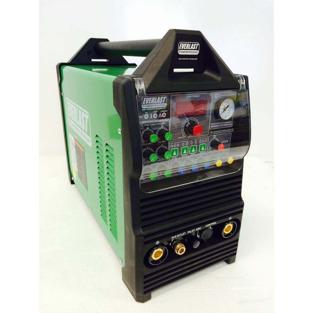 Everlast PowerPro 205S TIG / Stick / Plasma Welder