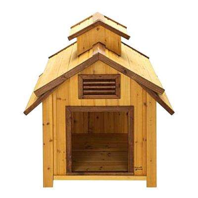 2.8 ft. L x 2.5 ft. W x 3 ft. H Medium Bird Dog House