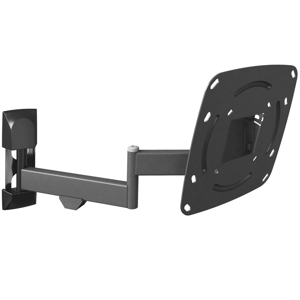 Barkan Full Motion/Curved Flat Panel TV Wall Mount for 26 in.