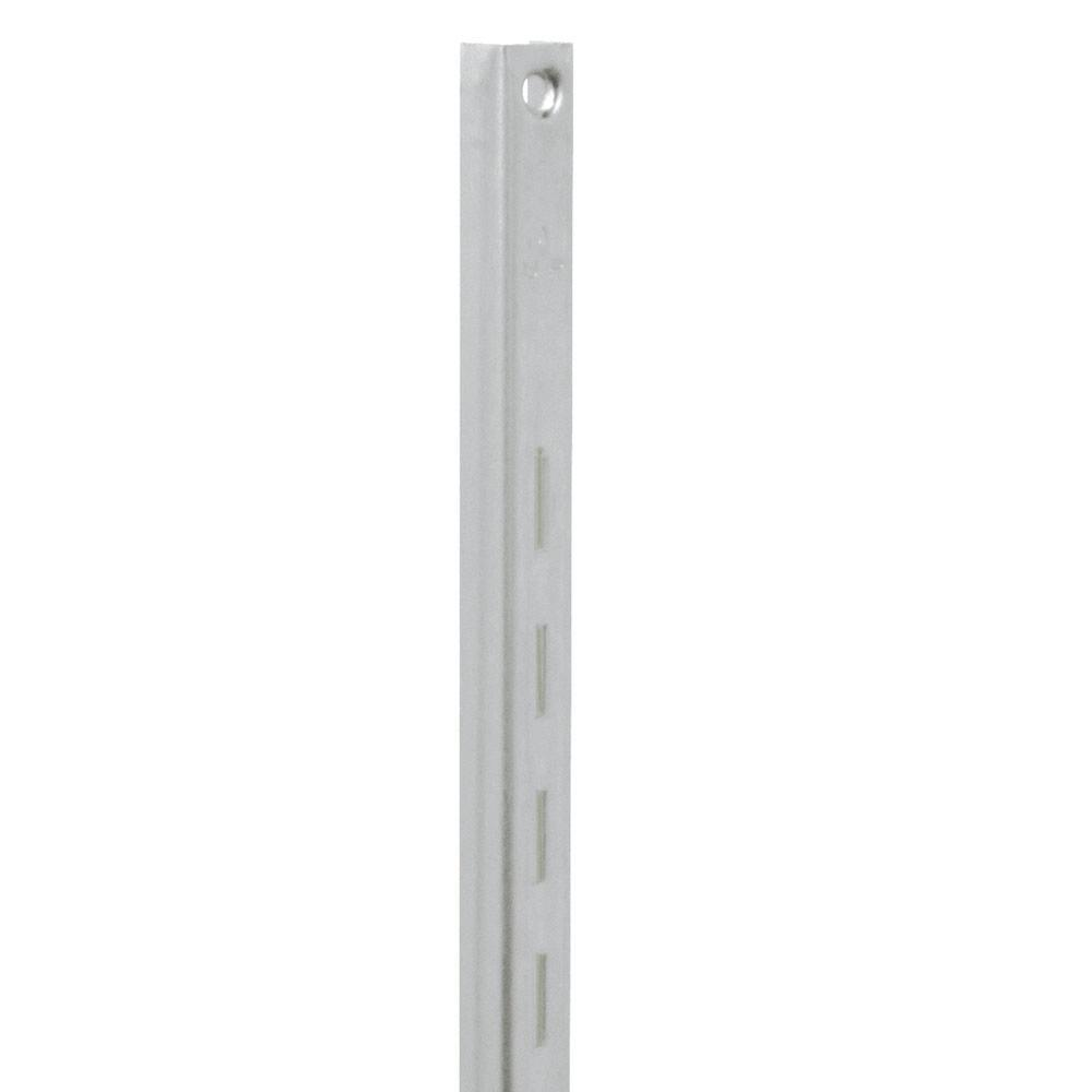 80 Series 48 in. L Titanium Adjustable Shelving Standard