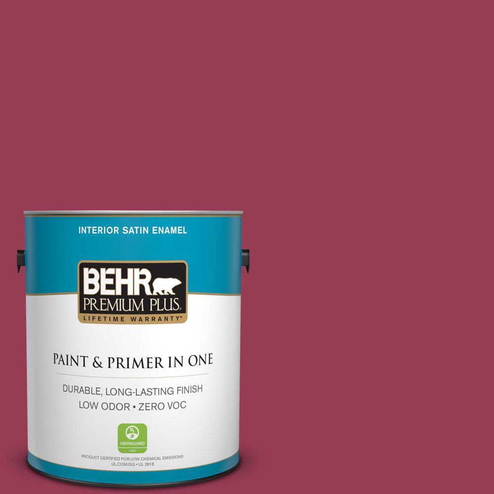 Home Decorators Collection 1-gal. #HDC-CL-04 French Rose Zero VOC Satin Enamel