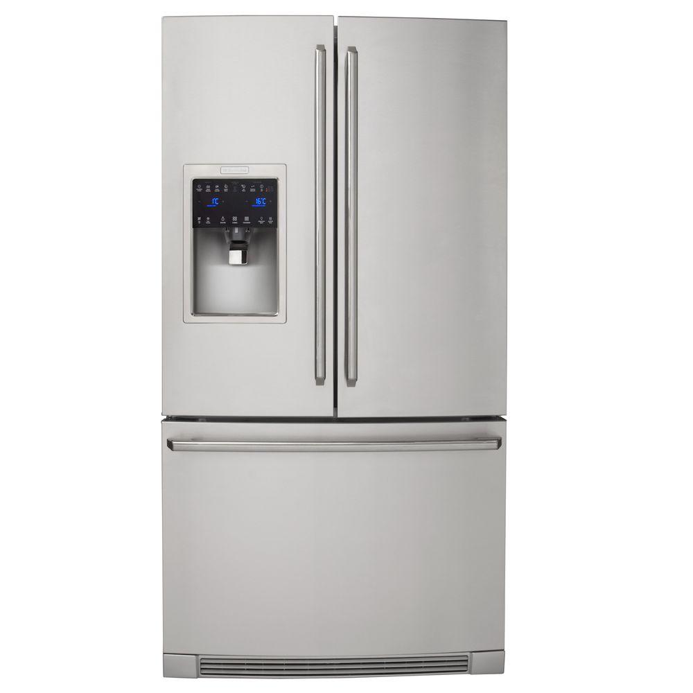 Electrolux IQ-Touch 21.93 cu. ft. French Door Refrigerator in Stainless Steel, Counter Depth