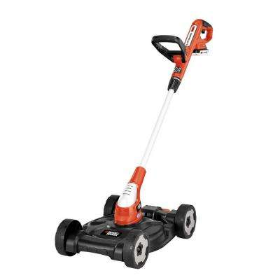 12 in. 20-Volt MAX Lithium-Ion Cordless 3-in-1 String Trimmer/Edger/Mower with (2) 2.0 Ah Batteries and Charger Included