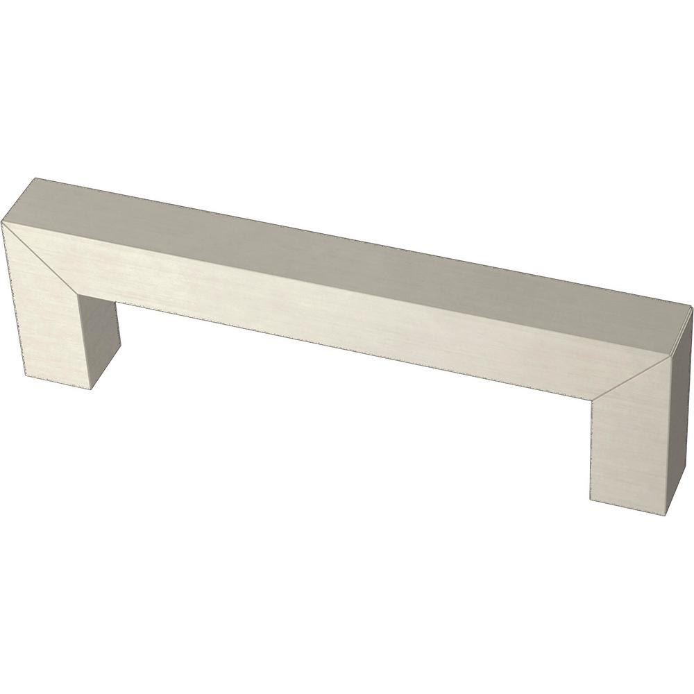 Liberty Modern Square Bar Pull 3-3/4 in. (96 mm) Stainless Steel Drawer Pull