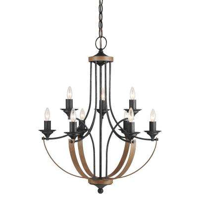 Corbeille 9-Light Stardust Candelabra Chandelier