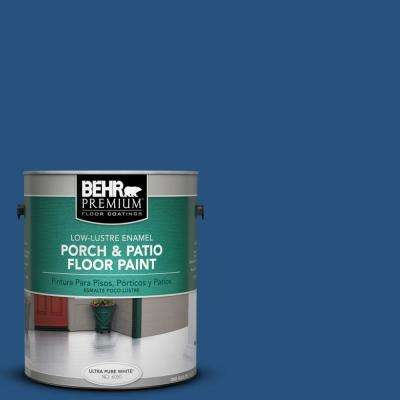 1 gal. #S-H-570 Blueberry Twist Low-Lustre Porch and Patio Floor Paint