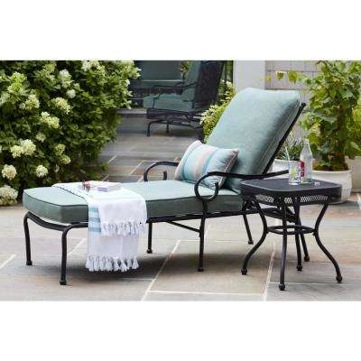 Amelia Springs Outdoor Chaise Lounge With Spa Cushions