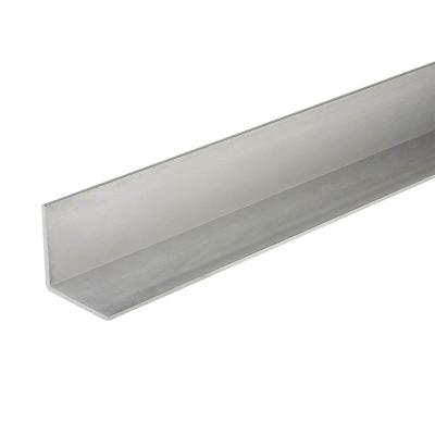 Everbilt 1 In X 96 In Aluminum Angle Bar With 1 20 In Thick 802587 The Home Depot