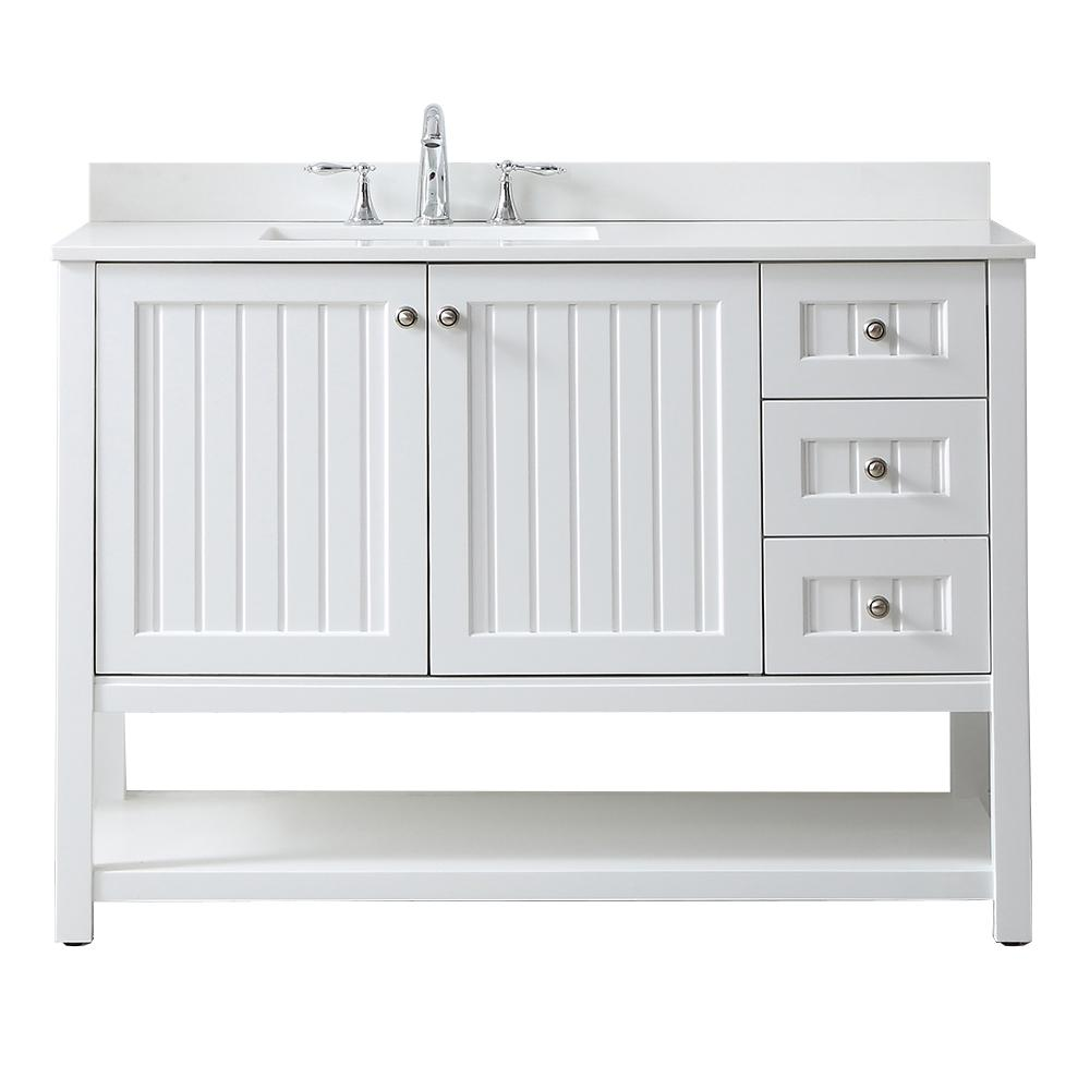 Martha Living Seal Harbor 48 In W X 22 D Vanity