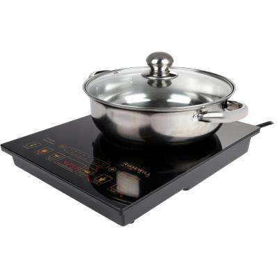 1800-Watt 5 Pre-Programmed Setting Gold/Black Induction Cooker