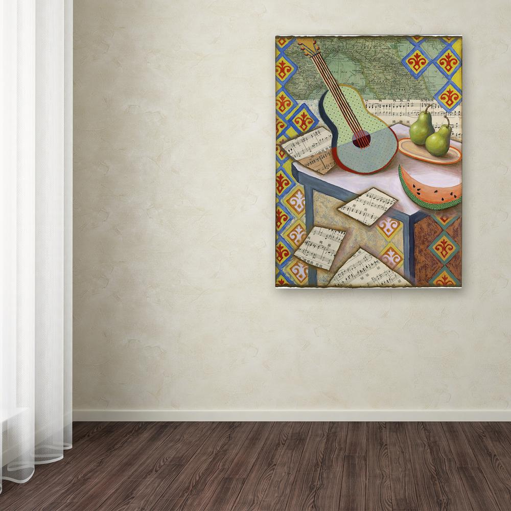 """Trademark 24 in. x 18 in. """"Music Magic"""" by Rachel Paxton ..."""