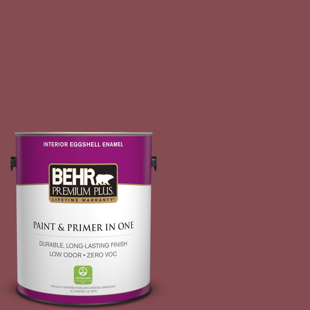 BEHR Premium Plus 1-gal. #ECC-59-3 New Roof Zero VOC Eggshell Enamel Interior Paint
