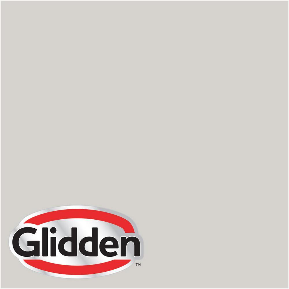 Glidden Premium 8 Oz Hdgcn49 Silver Cloud Satin Interior Paint Sample