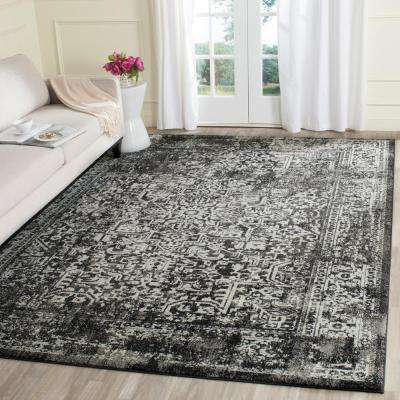 evoke blackgray 10 ft x 14 ft area rug
