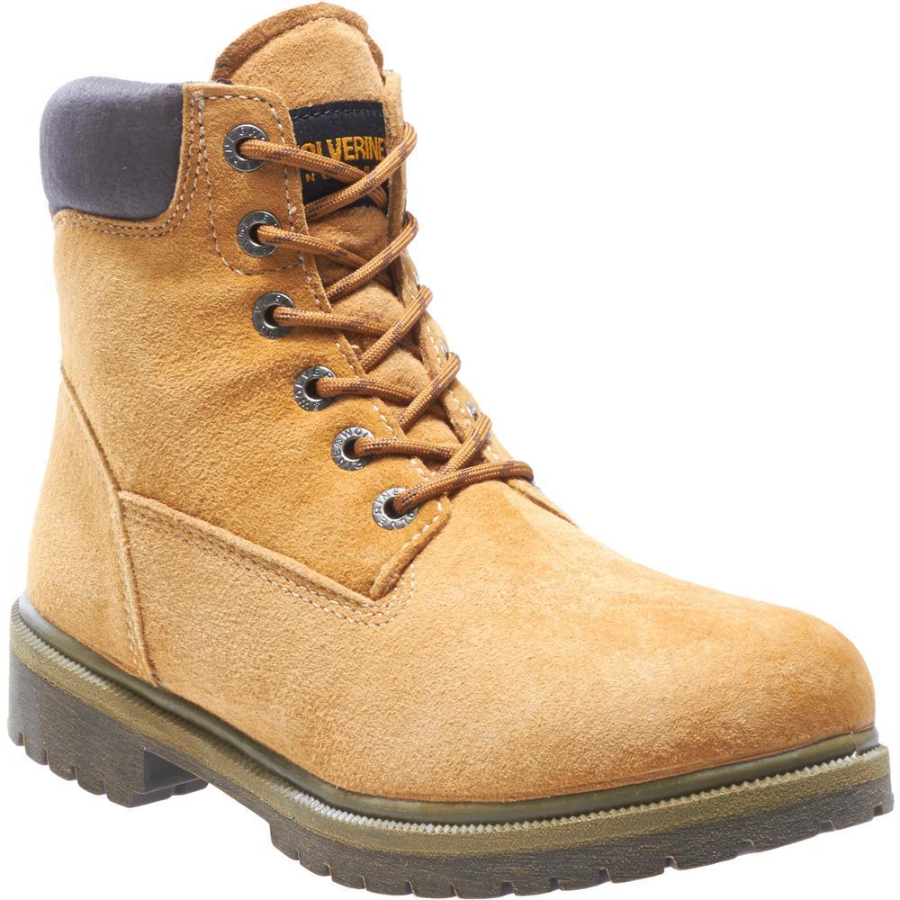 Work Boots - Soft Toe-W01191 9.5M