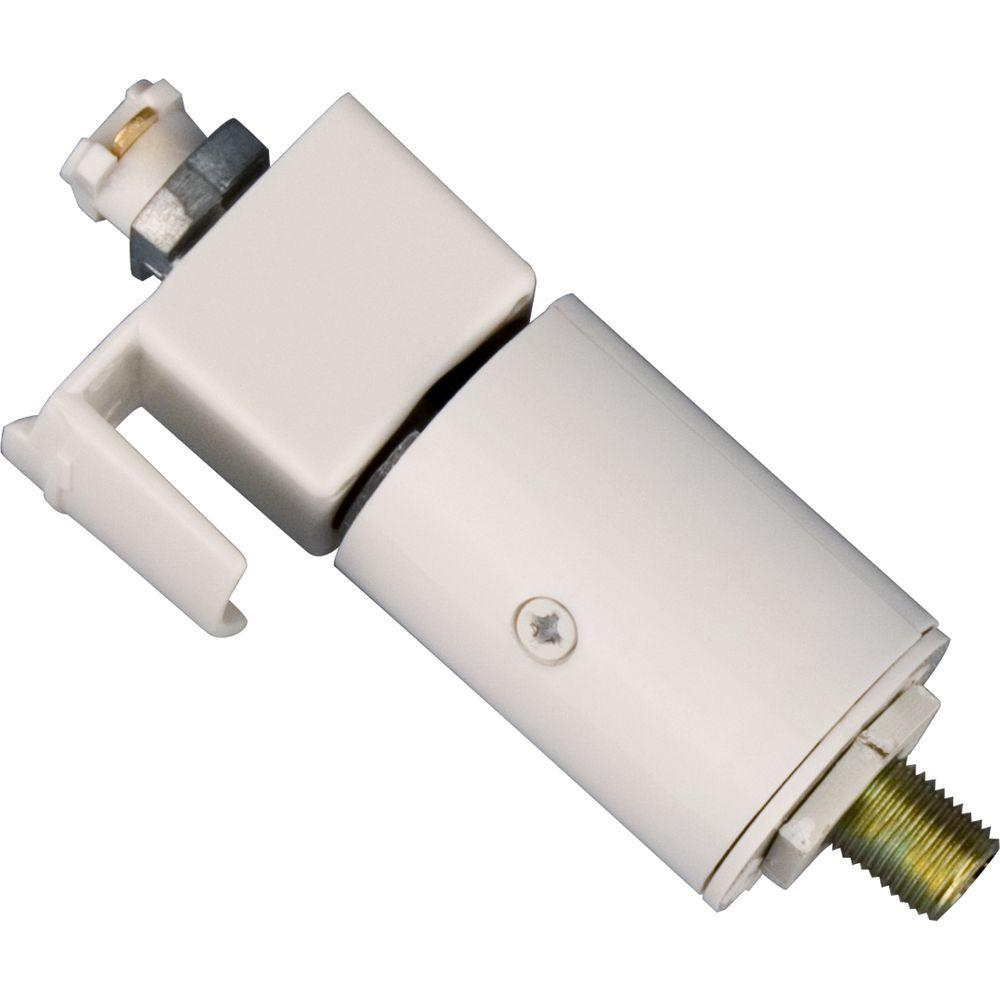 Progress Lighting White Track Accessory Pendant Adapter