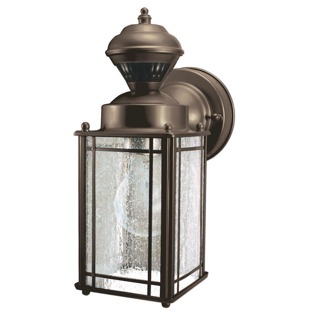 Heath Zenith 150 Degree Shaker Cove Mission Lantern - Oil Rubbed Bronze-DISCONTINUED