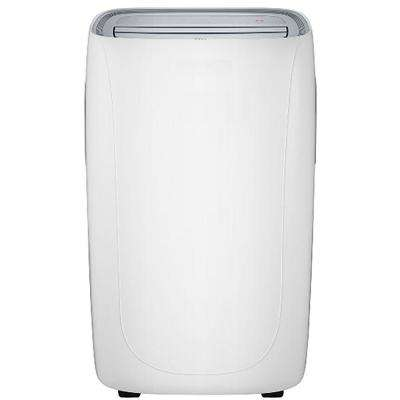 14000 BTU 8000 BTU (DOE) Portable Air Conditioner with Remote Control in White