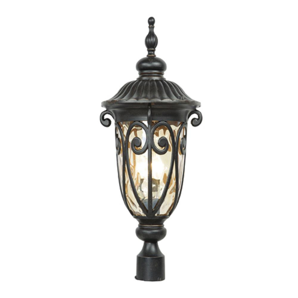 Y decor hailee 3 light outdoor oil rubbed bronze post light y decor hailee 3 light outdoor oil rubbed bronze post light arubaitofo Image collections