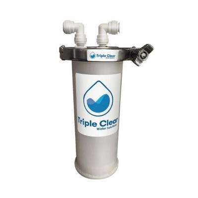 Force Field - Under the Sink 5 in. Replacement Point of Use Water Filter Capsule with Carbon