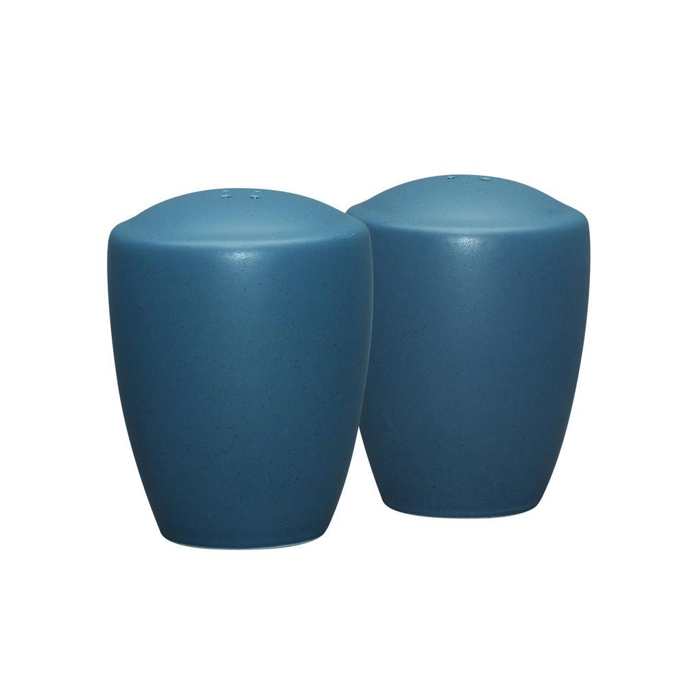 Colorwave 3-3/8 in. Blue Salt and Pepper