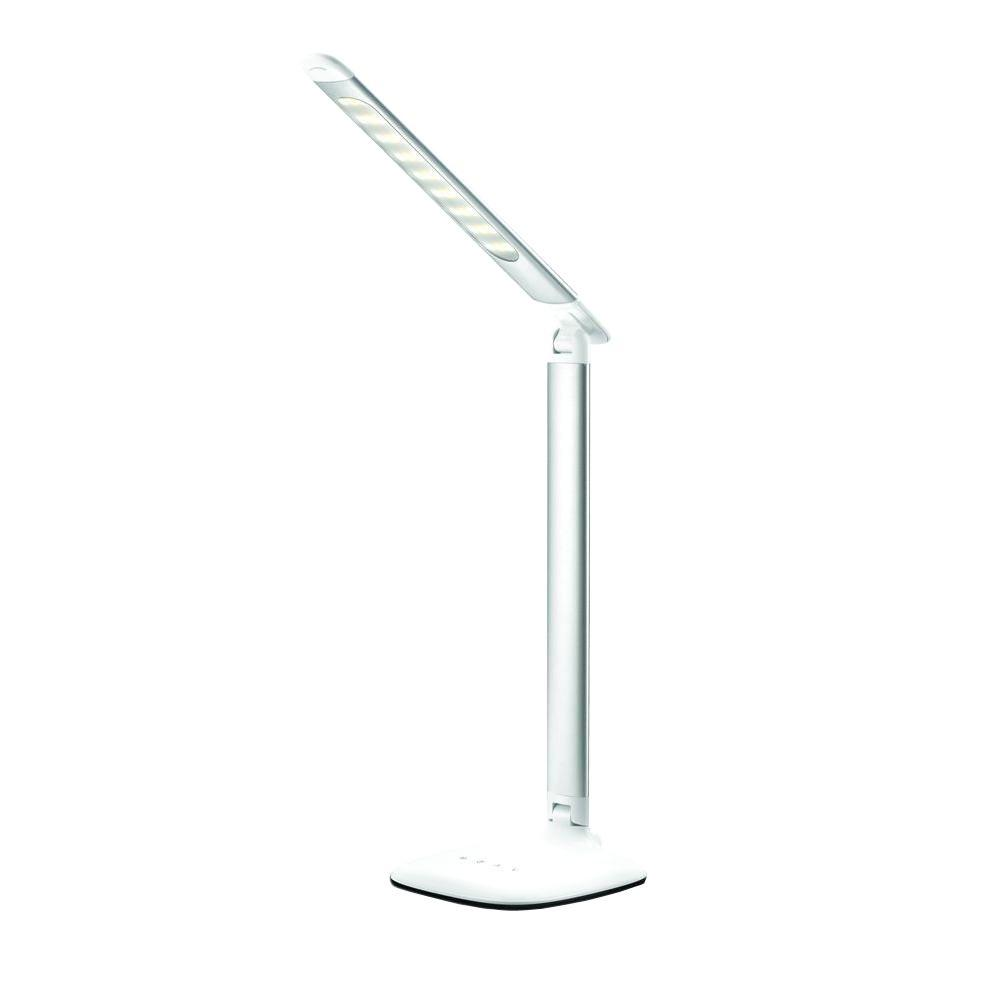14 in. Silver Portable Smart Lamp D20