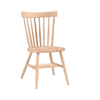 Unfinished Wood Copenhagen Dining Chair