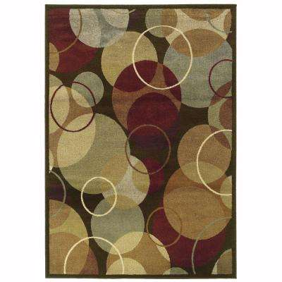 Grace Carnavon Multi 8 ft. x 10 ft. Area Rug