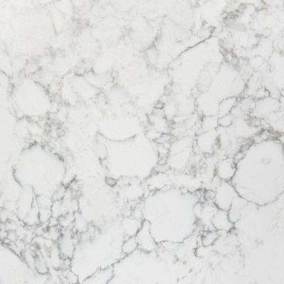 3 in. x 3 in. Quartz Countertop Sample in Karis