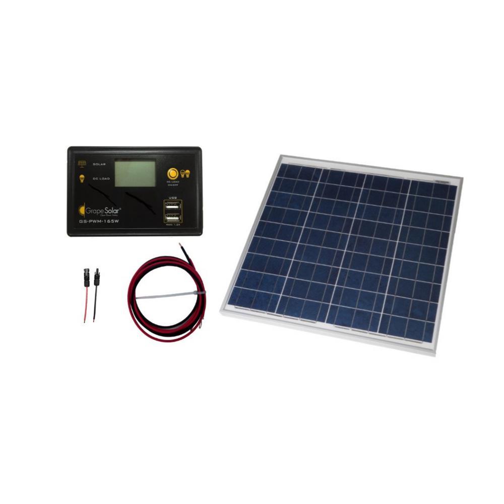 Coleman 18 Watt 12 Volt Solar Battery Charging Kit 58033