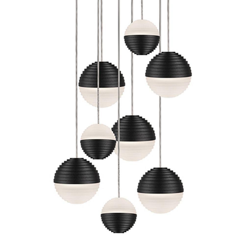 Tech Lighting Home Depot: Radionic Hi Tech Jessa 1-Light 60-Watt Equivalence Black
