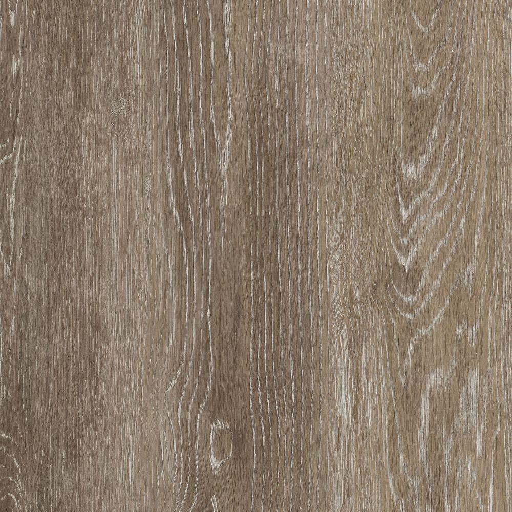 TrafficMaster Khaki Oak 6 in. W x 36 in. L Luxury Vinyl Plank Flooring (24 sq. ft. / case)